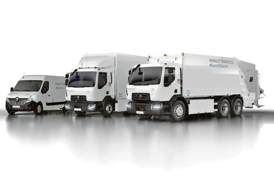 Renault Trucks geht als vollelektrischer Vollsortimenter an den Start. Bild: Renaut Trucks