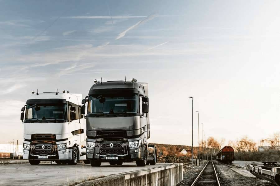 Die T High Edition Protect gibt es in zwei Designvarianten. Bild: Volvo Trucks