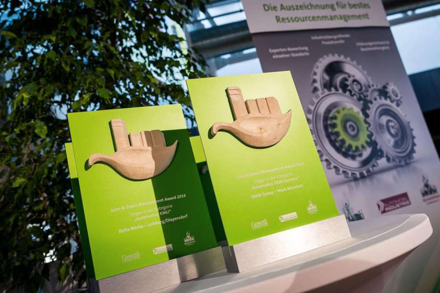"""Lean & Green Management Award"": für nachhaltiges Lean Management 