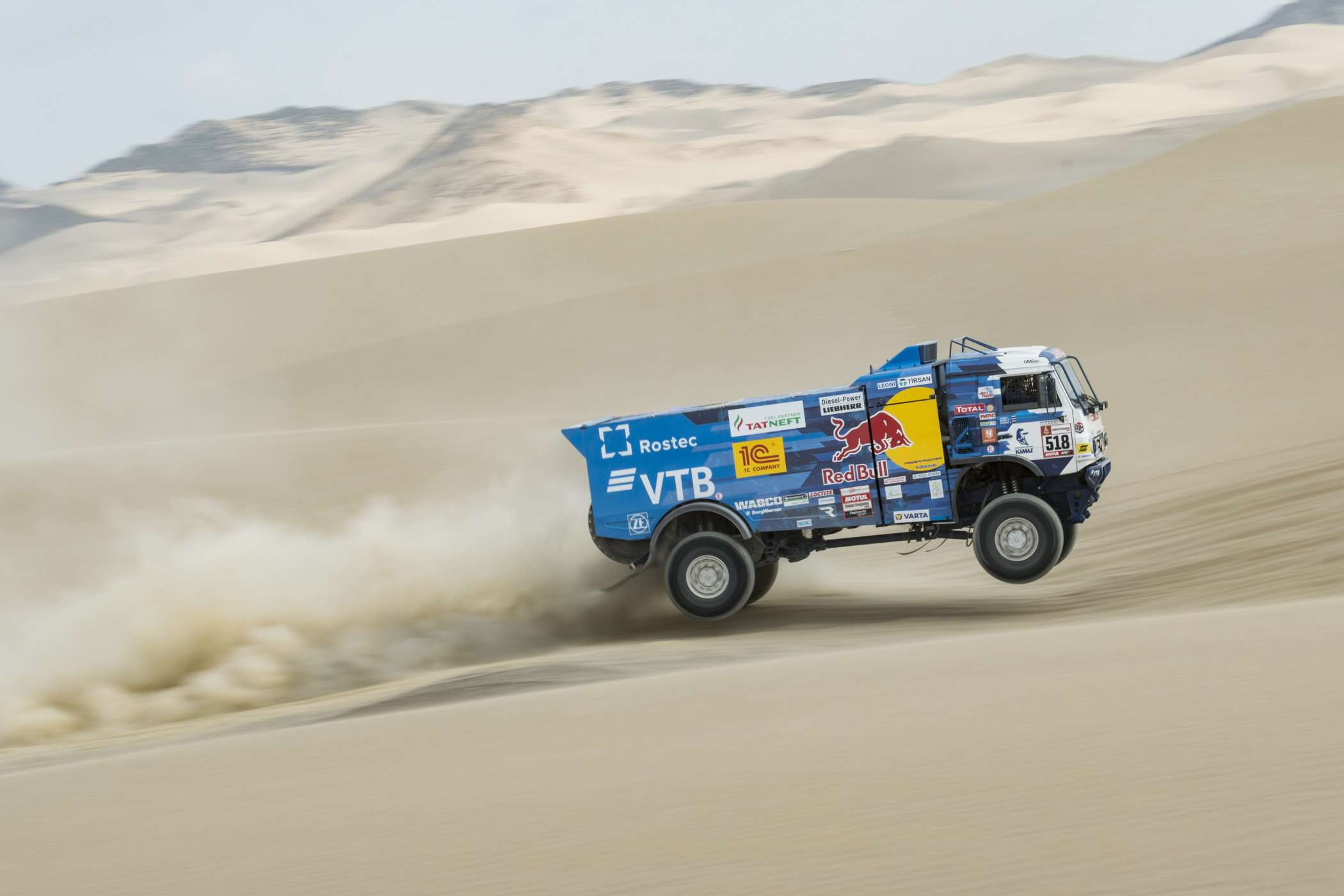 Kamaz in Action. (Foto: Red Bull Contentpool)