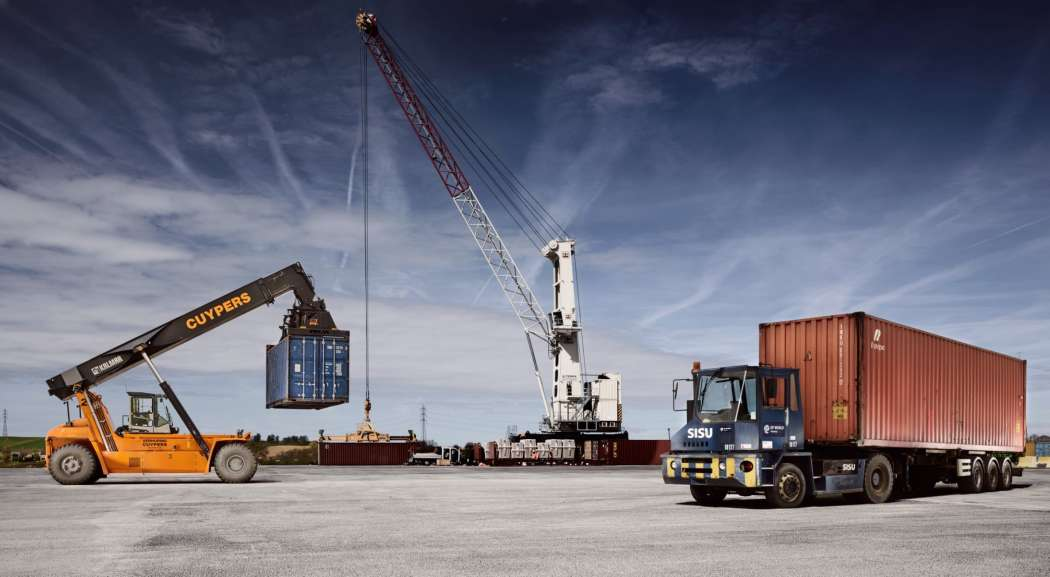 Containerterminel Liège | Foto: DP World