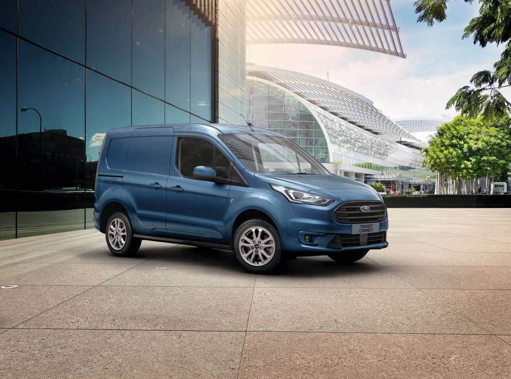Der Kleintransporter Ford Transit Connect in der Neuauflage. Foto: Ford.
