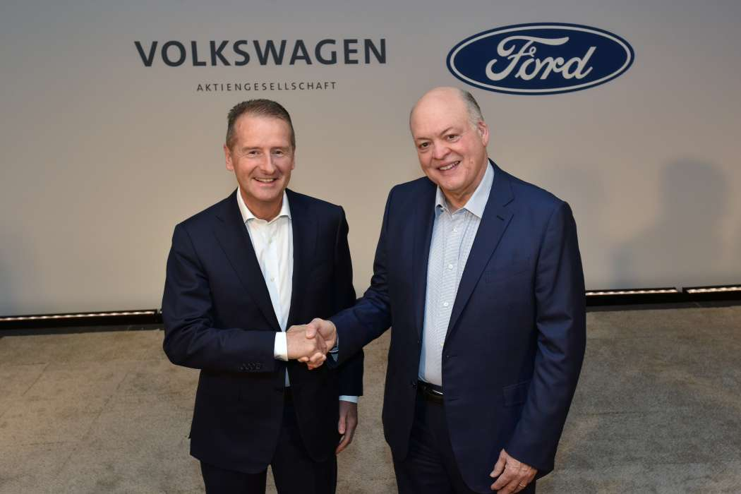 Ford plant mit 600.000 E-Autos auf VW-Basis in Europa
