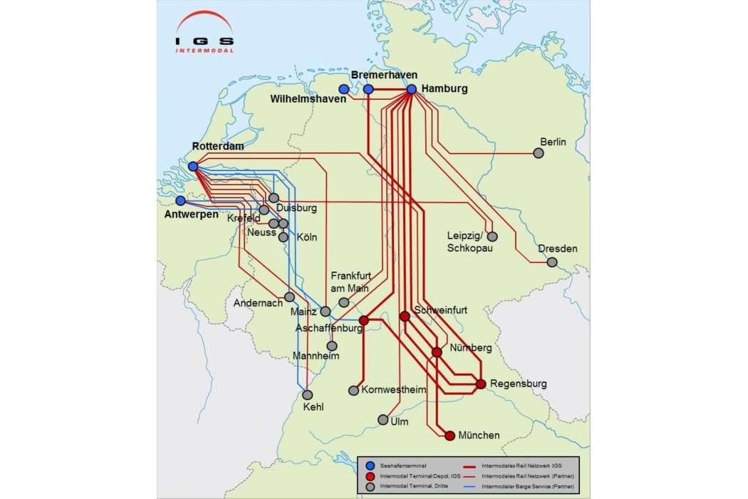 Niederlande Mehr Züge Und Schiffe Ab Rotterdam Nach