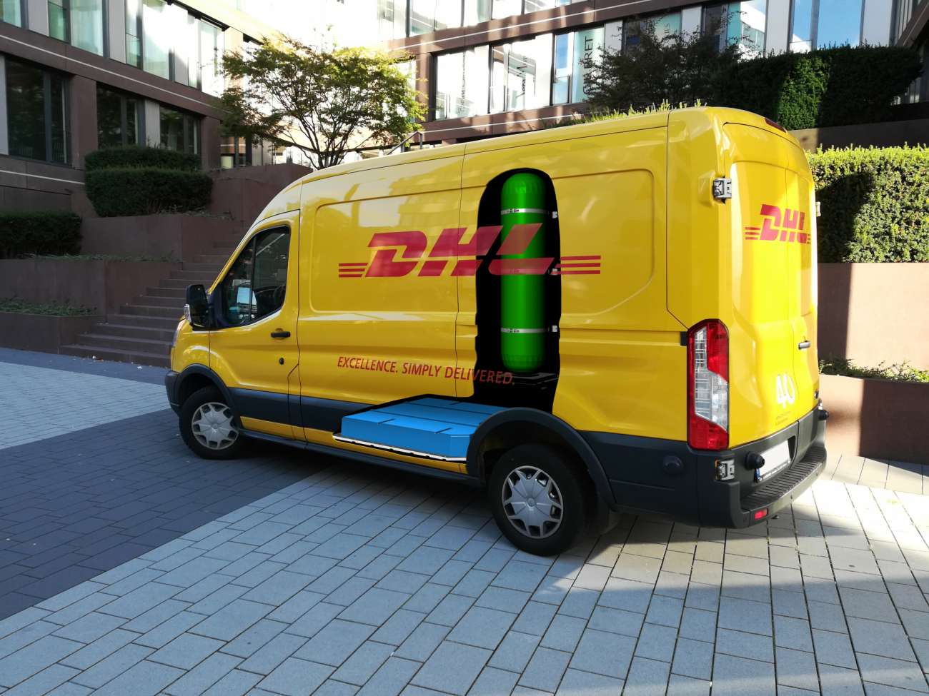 Streetscooter soll bald mit Brennstoffzelle fahren